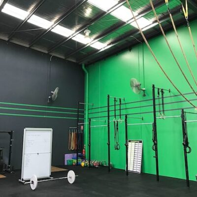commercial gym Painting
